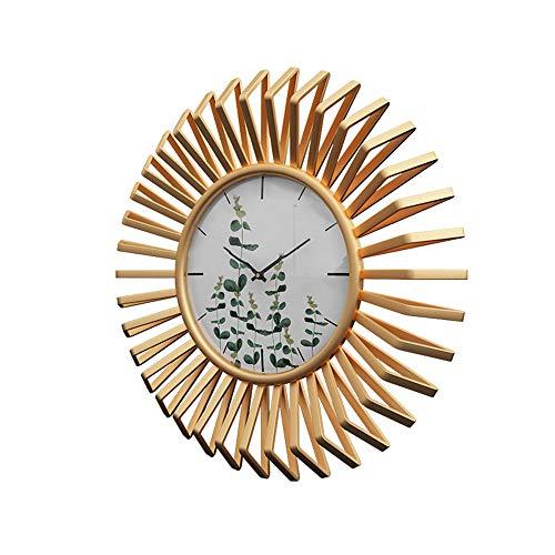 Anyi Reloj Grande Silencio Decorativo Circular 3D del Reloj