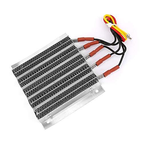 Calefacción de PTC de ondulación, termistores de placa de calentamiento a seco 230 ± 10 ° C hechos de aluminio 36V; 48V