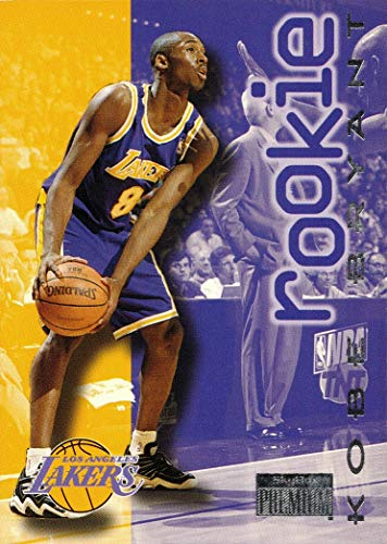 1996-97 Skybox Premium Basketball #203 Kobe Bryant Rookie Card Lakers