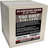 #100 Aluminum Oxide - 8 LBS or 3.6kg - Medium...