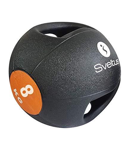 Sveltus - Balón Medicinal (8 kg, con Asas)