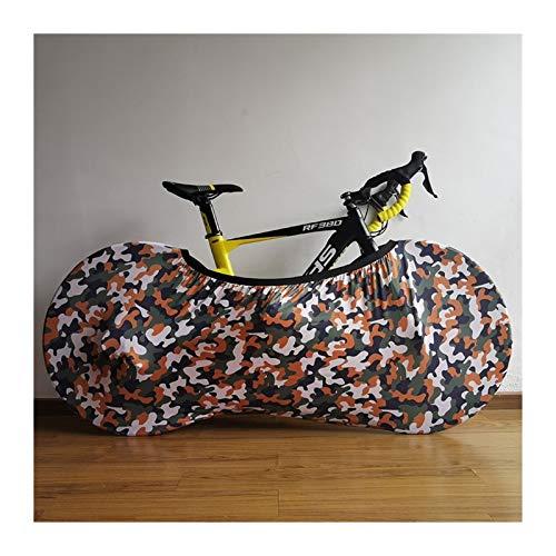 Bicicleta Protección Camuflaje estiramiento de la bicicleta cubierta de polvo cubierta de 26' a 28' del camino de MTB neumático de la bici de la cubierta protectora accesorios de bicicletas Pequeña Pr