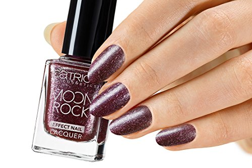 Catrice Cosmetics Moon Rock Effect Nail lacquer Vernis à ongles n°05 Moonlight Berriage, 11 ml, 0.37 fl.oz.