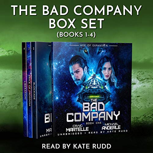 The Bad Company Boxed Set: Books 1 - 4 audiobook cover art