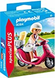 PLAYMOBIL Especiales Plus-9084 Mujer con Scooter, Multicolor, única...