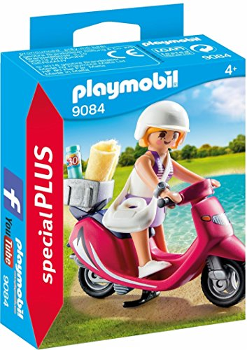 PLAYMOBIL Especiales Plus-9084 Mujer con Scooter