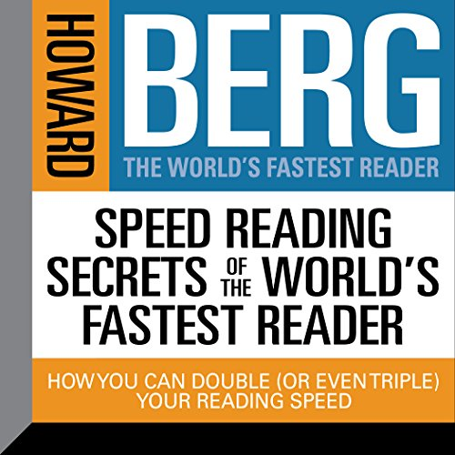 Speed Reading Secrets of the World's Fastest Reader audiobook cover art