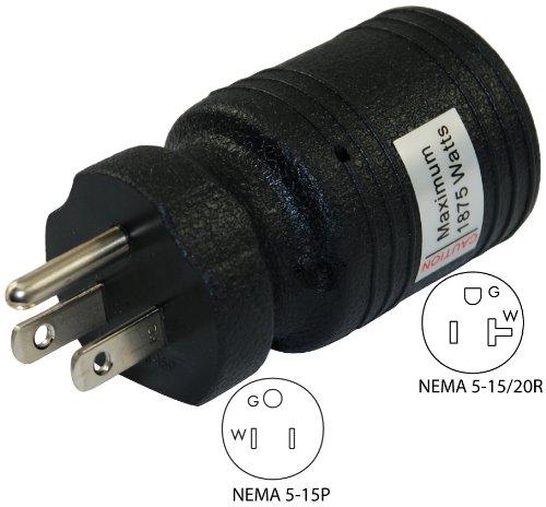 Conntek 30129 15A to 15/20A Plug Adapter