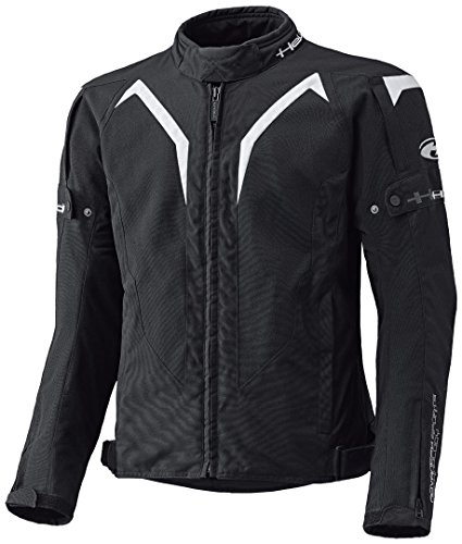 Held Zelda sportliche Motorrad Textiljacke, Farbe schwarz-weiss, Größe L