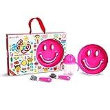 Munchkin Set De Alimentación Para Bebés Be Happy, Rosa 1 unidad 710 g