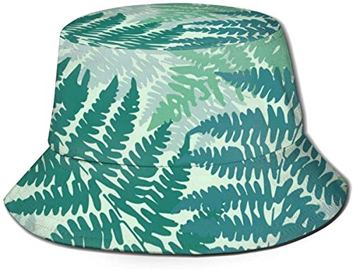 BONRI Sombreros de Cubo Transpirables con Parte Superior Plana Unisex Pierna de Pollo Frito Sombrero de Cubo de Comida rápida Sombrero de Pescador de Verano