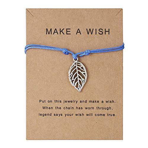 jieGorge Bracelets, 11 Fashion Love Creative Cartoon Small Animal Woven Adjustable Bracelet, Jewelry for Women Gifts (B)
