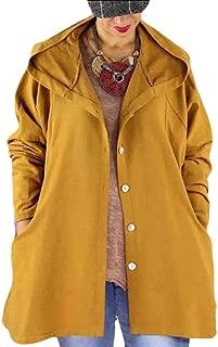 Women Outdoor Hooded Lightweight Single Breasted Jacket Windbreaker