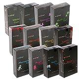 Stamford: 144 conos de incienso color negro (12 cajas de 12 conos). Paquete de...
