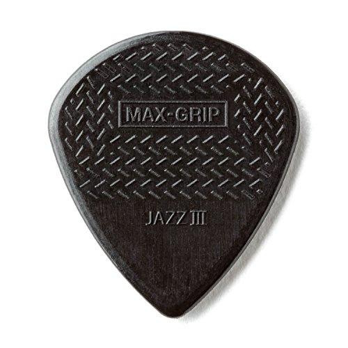 JIM DUNLOP MAXGRIP JAZZ III/BK ピック ×12枚
