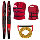 Base Sports Vapor Combo Ski Package Wasserski 67' 170cm (Rot)