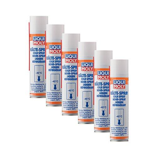 6x LIQUI MOLY 8916 Kälte-Spray Vereisungsspray 400ml