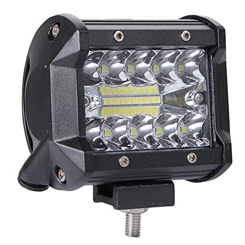 12V 24V Faro de ATV llevó barra de 200W LED del trabajo de 4 pulgadas de coches barra de la lámpara de conducción campo a través de Barco del carro del tractor 4x4 SUV luz de niebla luces del coche