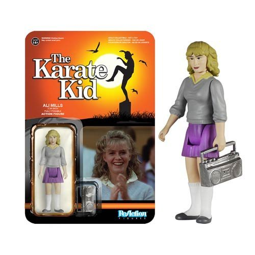 Karate Kid Ali ReAction 3 3/4-Inch Retro Action Figure by Karate Kid
