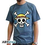 ABYstyle abystyleabytex058_ gd-xl Abysse One Piece calavera con mapa...