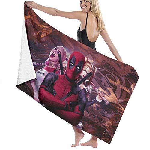 51RqCrIhHxL._SL500_ Harley Quinn Bath Towels