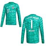 adidas FC Bayern Trikot Torwart Kinder 2020 - Neuer 1, Größe:152