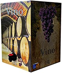 Bag in Box 15L Vino cosechero vino tinto joven de Bodega Los Corzos (20 Botellas de 750 ml)