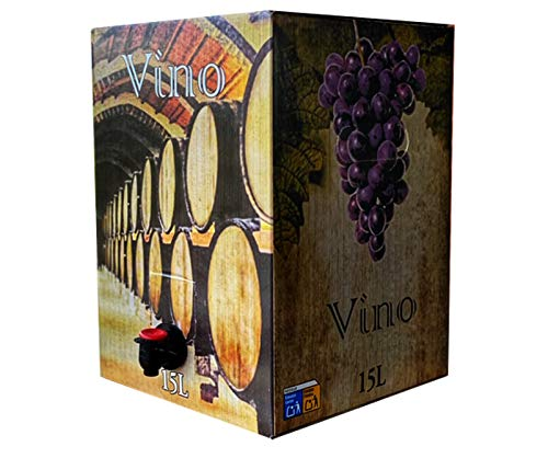 Bag in Box 15L Vino Tinto Joven Vino tinto cosechero 2019