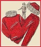 Barbie Fashion Doll Ski Outfit Knit Vintage Knitting Pattern (English Edition)