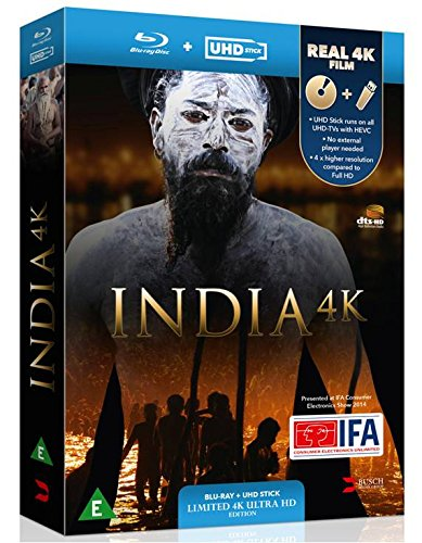 India 4K - UHD STICK+BLURAY 3D [Blu-ray] [UK Import]