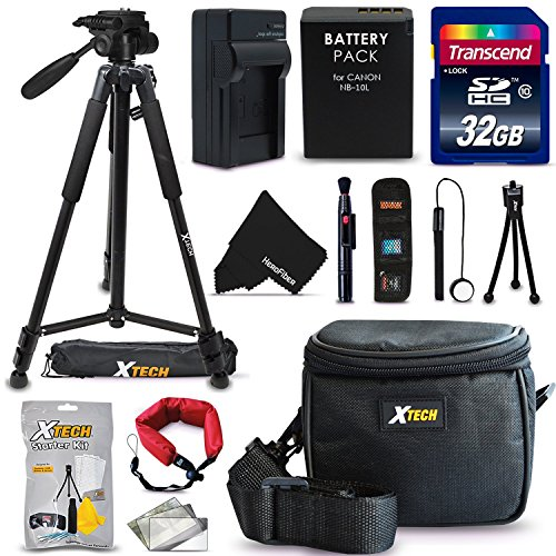 20 Piece Accessory Kit for Canon Powershot SX60,...