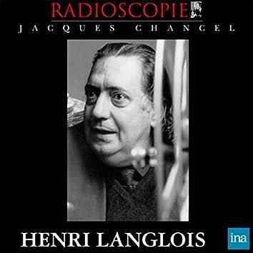 Radioscopie: Henri Langlois (08 juillet 1970)