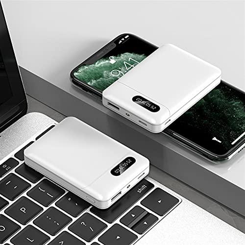 KAZOKUYiZi Power Bank, Mini tamaño 10000mAh LED Pantalla portátil Cargador portátil, 2 USB Output Y 3 Entrada Paquete de teléfono Externo de Carga rápida para iPhone Samsung S10 Note10 Airpods Xiaomi