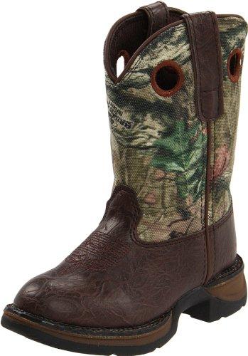 Durango unisex child Bt250 - Mobu boots, Brown/Mobu Infinity, 13 Little Kid US