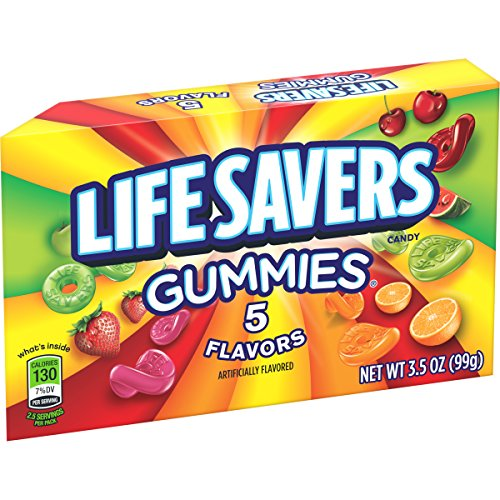 Life Savers Gummi 5 Flavor Box, 3.50-Ounce (Pack of 12)