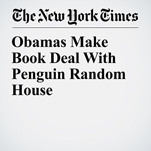 Obamas Make Book Deal With Penguin Random House copertina
