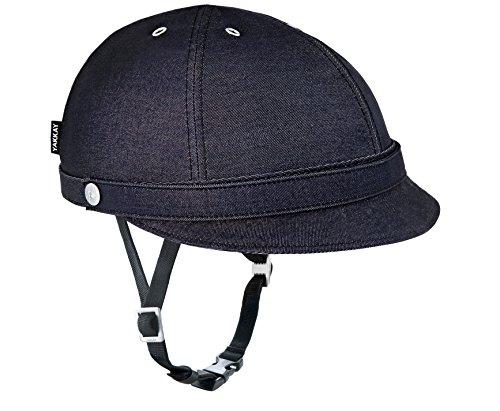 Yakkay Damen Milano Dark Helmbezug, dunkelblau, XL