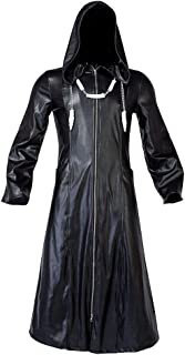 CosFantasy Roxas Long Jacket Coat Costume with Hooded mp004277