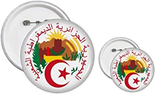 Kit de création de boutons et de badges Algérie