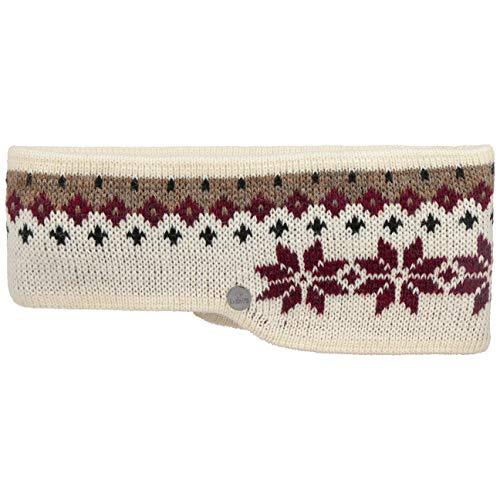 Lierys Snowflakes Hoofdband Dames/Heren - Made in Germany oor bescherming band oorwarmers voor Herfst/Winter