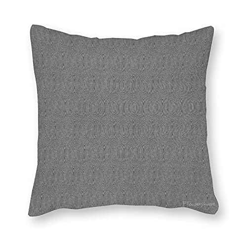 Toll2452 Funda de almohada de pizarra de ladrido, funda de cojín para decoración de sofá, 45,7 cm