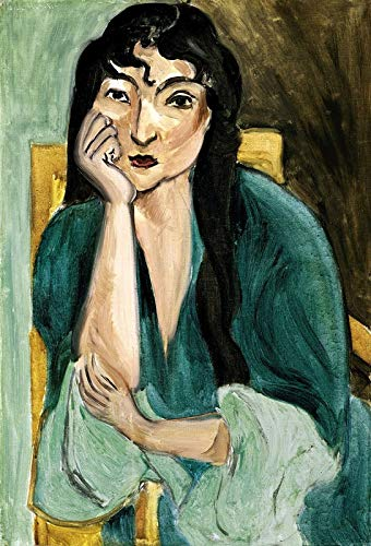 p5872 A3 Poster Henri Matisse Portrait of Laurette Italian Model 1916 - Art Painting Movie Game Film - wall Gift Reproduction Old Vintage Decoration