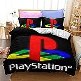 SMNVCKJ Ps4 Juego de ropa de cama y funda de almohada Ps5 con...