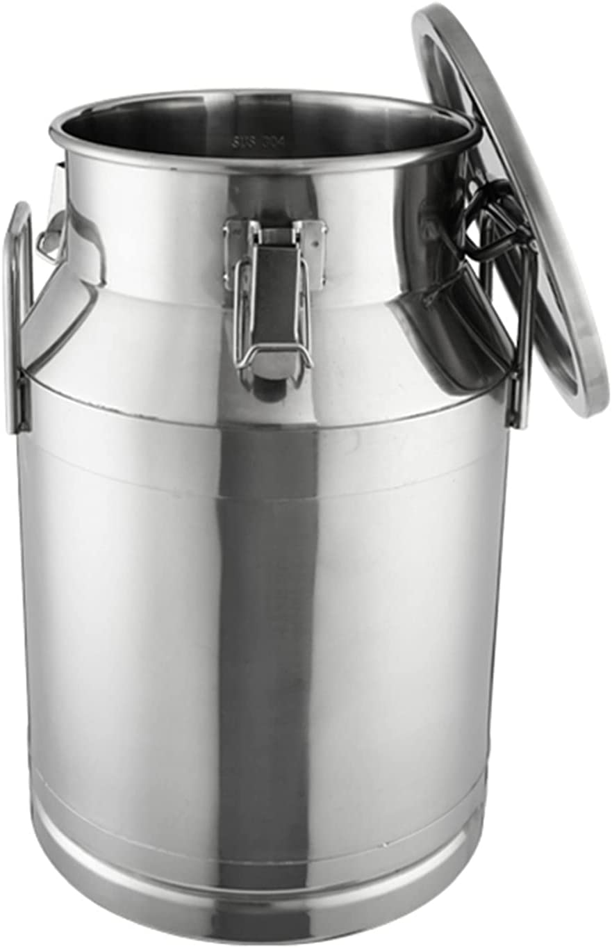 304 Stainless Steel Milk Can Liqui Pail 15L-60L Wine Free New color shipping New Bucket