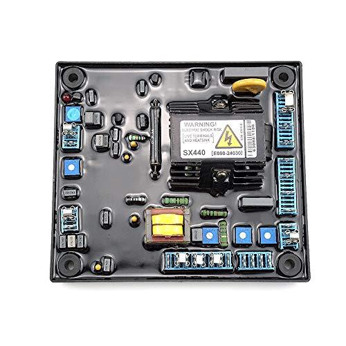 AVR SX440 Regulador Automático de Voltaje de Alto Rendimiento Reemplazo Estable para Estabilizadores de Generador Componentes y Suministros Electrónicos AVR Universal para SX440