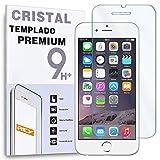 REY Protector de Pantalla para iPhone 6 Plus 6S Plus 5.5' Cristal Vidrio Templado Premium