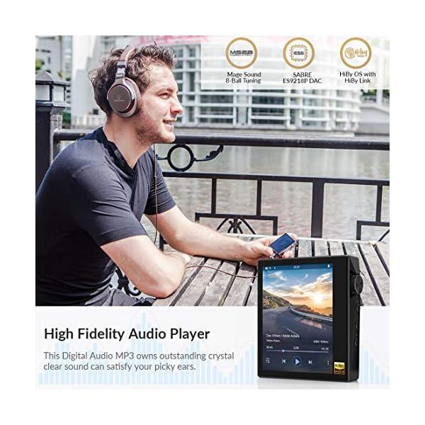 Ultraportable HiFi Music Player Bluetooth MP3 Player High Resolution Audio Player 4