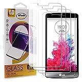 Guran 4 Paquete Cristal Templado Protector de Pantalla para LG G3S / LG G3 Mini Smartphone 9H Dureza Anti-Ara?azos Alta Definicion Transparente Película
