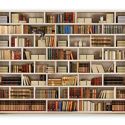 murando Papier peint intissé 300x210 cm Décoration Murale XXL Poster Tableaux Muraux Tapisserie Photo Trompe l'oeil livre 10110905-29