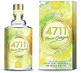 4711® Remix Cologne Zitrone I Limited Edition 2020 - Eau de Cologne - fruchtig - spritzig - wild - die lebendige Frische der Zitrone sommerlich neu ge-remixt! I 100ml Natural Spray Vaporisateur